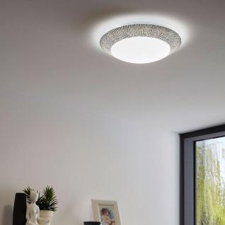 Eglo 95669 Magitta 1 LED Deckenlampe Ø 31cm 1600lm Weiß Schwarz