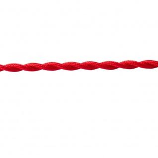 Textilkabel rot twisted 2 x 0, 75mm 1 Meter Zubehör