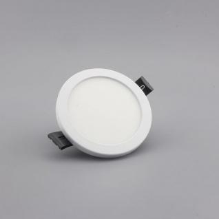 Einbau LED-Panel Ultra mit Mini-Rahmen 720lm, Ø 9cm, warm