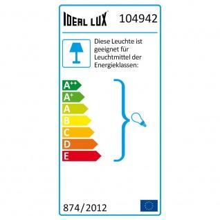 Ideal Lux 104942 Look Pendelleuchte Zylinder Ø 6cm Chrom - Vorschau 5