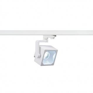 SLV Euro Cube LED Spot 90° inkl. 3P.-Adapter 4000K CRI90 Weiß 152791