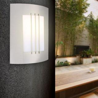 ORLANDO Außen-Wandleuchte Edelstahl Hochwertige Wandleuchte Wandlampe Aussen - Vorschau 3