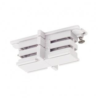 SLV Mini-Verbinder für S-Track 3P.-Schiene isoliert Weiß 175081