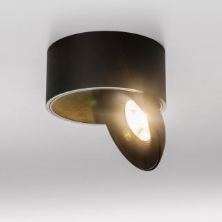 Licht-Trend LED Aufbauleuchte Santa 2700K dimmbar 910lm Schwarz