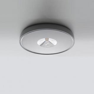 IVELA LED Aussen-Deckenlampe PN110T IP65 400lm Grau