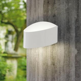Eglo 93327 Esparta 1 LED Aussen-Wandleuchte 2-flammig Weiß