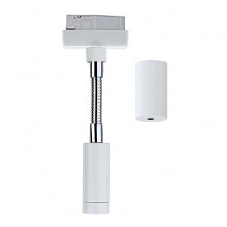 Paulmann URail System Flex Pendel Adapter Weiß 230V Metall Kunststoff