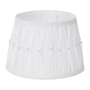 Eglo 49961 1+1 Vintage Lampenschirm Ø 20cm mit Dekor Weiß