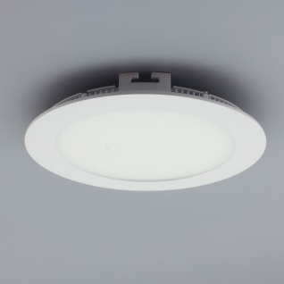 Licht-Design 30401 Einbau LED-Panel 960lm Dimmbar Ø 17cm Neutral Weiss