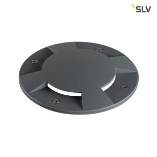 SLV Big Plot Abdeckung 4 Auslässe Anthrazit SLV 1001263
