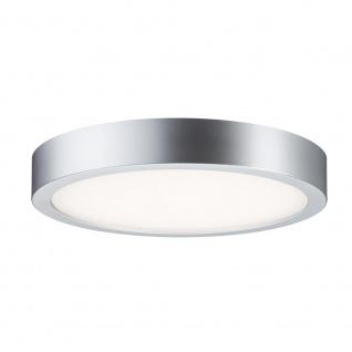 Paulmann WallCeiling Orbit LED-Panel 300mm 16, 5W 230V Chrom matt/Weiß Kst