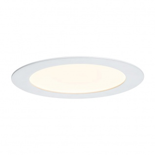 Paulmann Premium EBL Set Panel rund LED 1x6, 5W 2700K 8VA 180mm Weiß m Alu 92714 - Vorschau 1