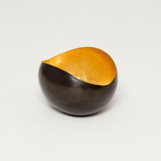 Holländer 257 3540 Windlicht Trucco Metall Bronze-Braun-Gold