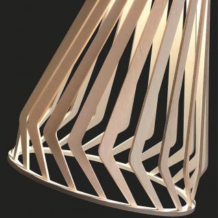 Licht-Trend Woody / Holz Pendelleuchte Ø 34 cm / Buche Hängelampe Hängeleuchte - Vorschau 2