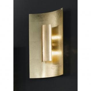 Kögl 98221 Aura Gold Wand- & Deckenleuchte 2-flammig Gold 45cm