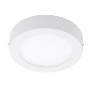 Eglo 94072 Fueva 1 LED Aufbauleuchte Ø 17cm Weiß