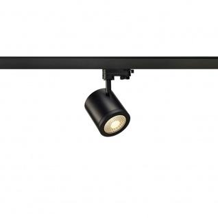 SLV Enola_C 9 LED Spot 55° inkl. 3P.-Adapter 9W 3000K Schwarz 152430