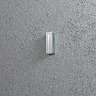 Konstsmide 7915-310 Imola LED Aussen-Wandleuchte Grau klares Acrylglas
