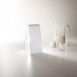Fabas Luce 3303-30-102 Bend LED Tischleuchte mit Schalter 540lm Weiß