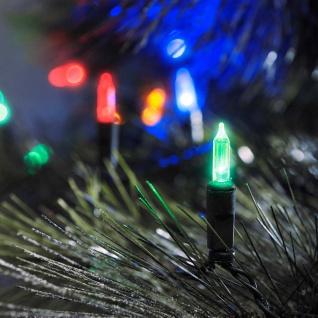 LED Minilichterkette 120 bunte Dioden 24V Außentrafo