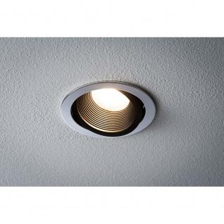 Premium EBL Helia rund schwb LED 2700K 13W 1, 4A 115mm Chrom schw m Alu Acryl
