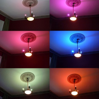Starter-Set 3x E27 iLight LED + Touch-Panel RGBW LED Leuchtmittel Lampe - Vorschau 4