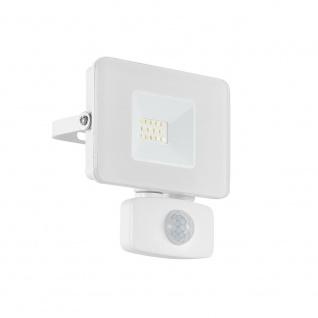 LED Gartenstrahler Faedo3 10W mit Sensor Weiß