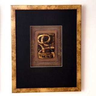Holländer 306 3150 Wandbild Immagine 1 Holz-Glas-Kunststein Gold-Schwarz