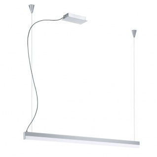 Eglo 93588 Tramp LED Hängeleuchte Weiß Chrom