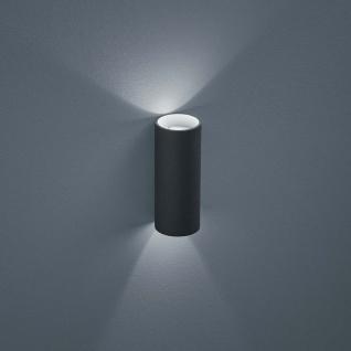 Helestra LED Außen-Wandlampe Swift IP65 Graphit