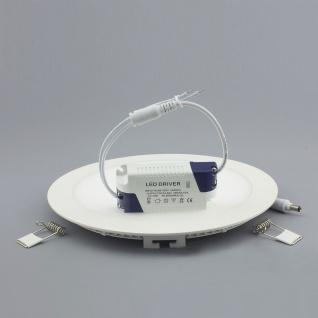 Licht-Design 30400 Einbau LED-Panel 960 Lumen Dimmbar / Ø 17 cm / Warm / Weiss - Vorschau 3