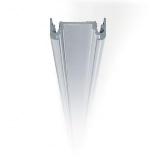 Aufbauprofil 200cm Alu-eloxiert ohne Abdeckung für LED-Strips
