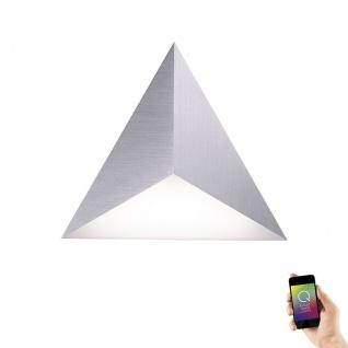Paul Neuhaus Smarte LED Wandlampe Q-Tetra RGBW RGB+CCT Satellite 6832-95