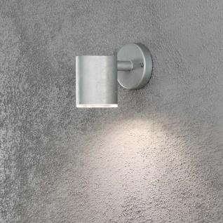 Konstsmide 592-320 Ull LED Wegeleuchte 700lm 3000K galvanisierter Stahl Polycarbonat Glas