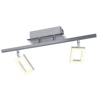 Licht-Trend Swive LED Wand- & Deckenleuchte mit 2 dreh- und schwenkbaren Spots