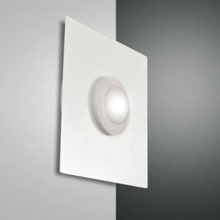 Fabas Luce 3270-24-102 Swan LED Wandleuchte 700lm Wandlampe Weiß
