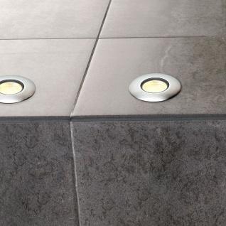 SLV Trail-Lite Einbauleuchte Edelstahl 316 4 LED 0, 3W Warmweiß 227462