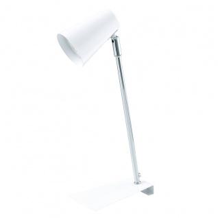 Eglo 94394 Travale LED Tischleuchte 1 x 3 W Stahl Weiss Chrom