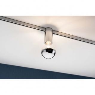 Paulmann URail Ceiling Socket max 1x20W E27 Chrom 95200