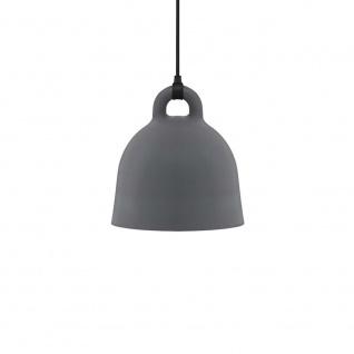 Normann Copenhagen Pendelleuchte Bell S Ø 35cm Grau Glockenform Hängeleuchte