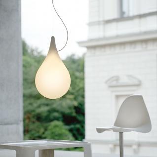 next LED Einbau-Pendelleuchte Drop_2 xs Liquid-Light Ø 10cm Weiß Einbaulampe