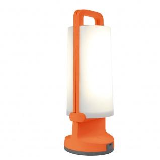 Mobile LED Solarlampe Dragonfly IP54 Orange Solar Gartenlampe Gartenleuchte