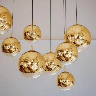 s.LUCE Fairy Spiegelkugel Pendelleuchte Ø 40cm Goldfarben Restaurantbeleuchtung - Vorschau 1