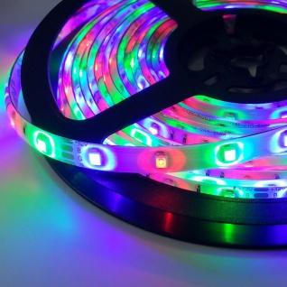 5m LED Strip-Set Ambiente Funk-Controller+WiFi RGB