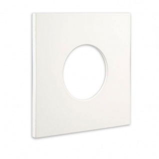 Cover für Einbaustrahler Sys-68 eckig Weiß