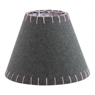 Eglo 49434 1+1 Vintage Filzschirm Ø 20, 5cm Grau Pink - Vorschau