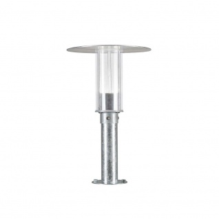 Konstsmide 701-320 Mode LED Sockelleuchte 700lm 3000K galvanisierter Stahl Polycarbonat Glas - Vorschau 3