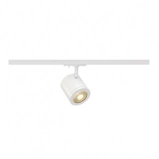 SLV Enola_C Spot rund weiss 9W LED 3000K 35° inkl. 1P. -Adapter 143941