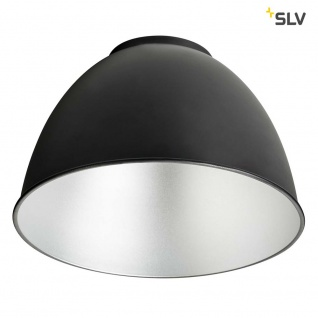 SLV Para Dome E27 Aluminiumreflektor Schwarz SLV 1002056