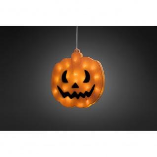 LED Fensterbild Kürbis für Halloween - Vorschau 2